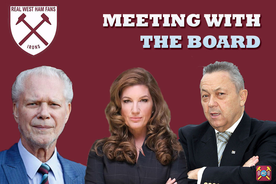 RWHFAG Meet the West Ham Board